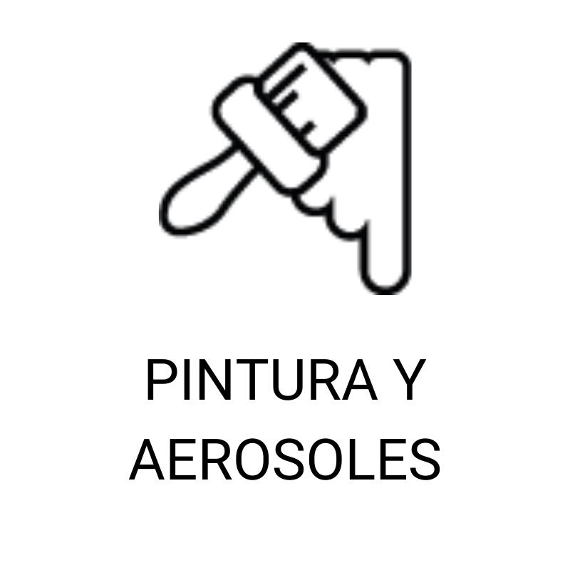 PINTURAS Y AEROSOLES